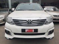 Cần bán Toyota Fortuner 2.7V(4*4) đời 2016, màu trắng giá thương lượng giá 800 triệu tại Tp.HCM