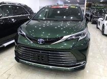 Bán ô tô Toyota Sienna Platinum 2021, màu xanh bộ đội, nhập khẩu Mỹ giá 4 tỷ 250 tr tại Hà Nội