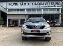 Cần bán Toyota Fortuner 2.5G đời 2015, màu bạc giá 730 triệu tại Tp.HCM