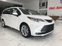 Bán ô tô Toyota Sienna Platinum sản xuất 2021, màu trắng, nhập khẩu giá 4 tỷ 200 tr tại Hà Nội