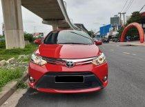 Cần bán lại xe Toyota Vios 1.5G đời 2015, màu đỏ giá 450 triệu tại Tp.HCM